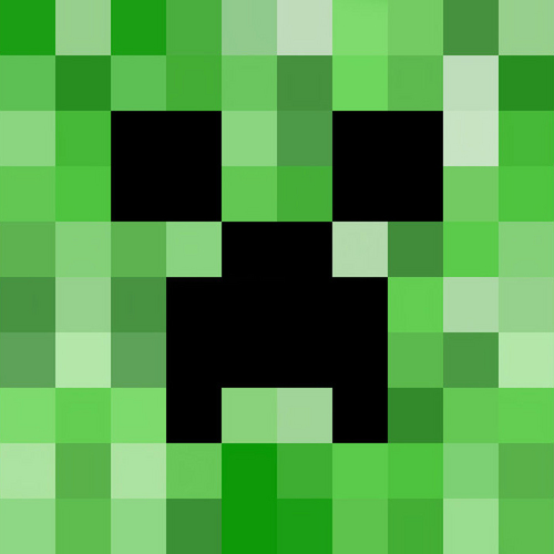 Picture of Making the Creeper Face