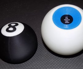 Electronic Magic 8 Ball and Eyeball