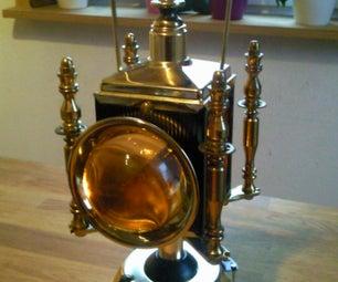 Steampunking a Bar Lantern
