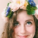 Flower and Succulent Crown Using a Headband and Thumbtacks!