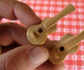 How to Carve Mini Guitar