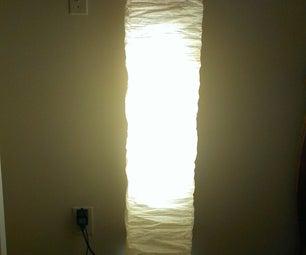 HACKED Ikea Paper Lamp.