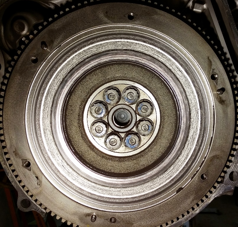 Picture of Remove the Clutch and Flywheel