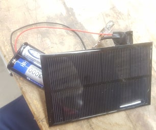 Low Cost Portable USB Solar Charger