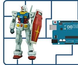 Moving Gunpla : Gundam