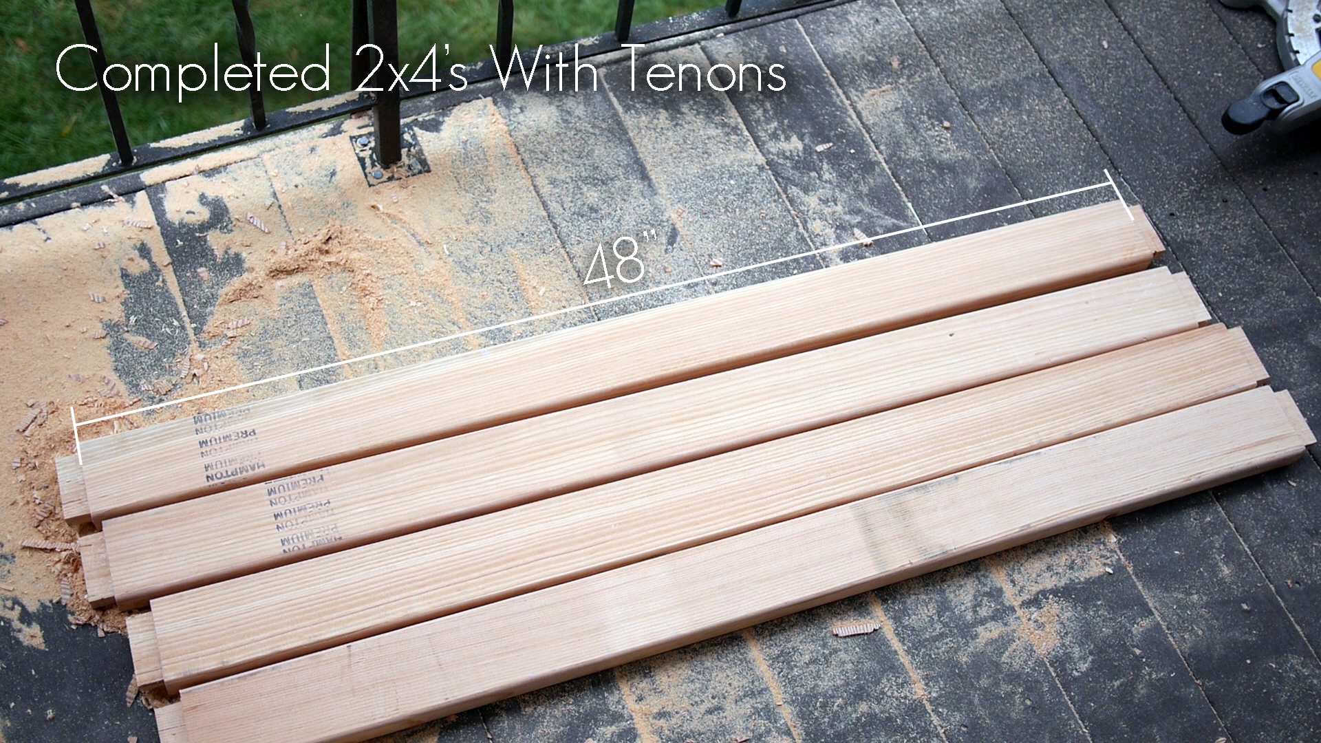 Picture of Cut the Tenons