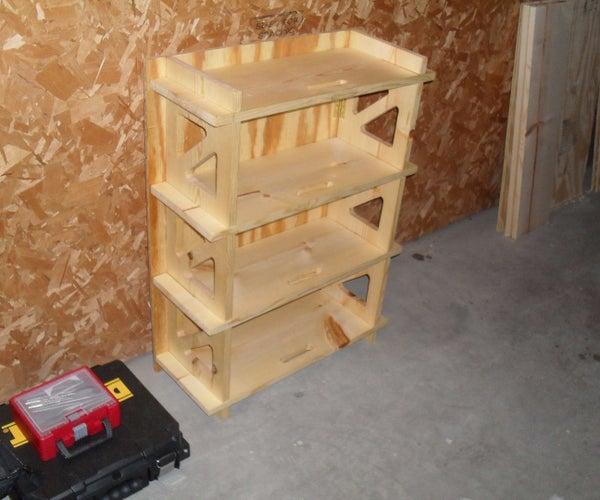 Folding Shelves