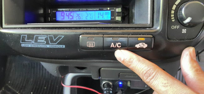 Simple Tip to Improve a Car's Air Conditioning Performance.