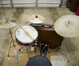 Build a Suitcase Drum Set