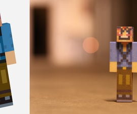 3D print your minecraft avatar