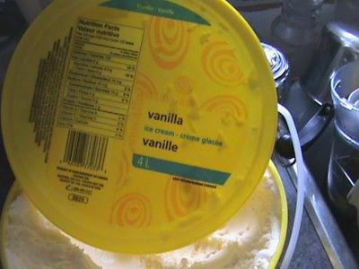 The Vanilla Ice Cream