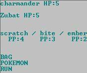 Batch Script Pokemon Game, Battle System Beta