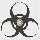 Biohazard Fidget Spinner