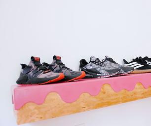 Frosted Donut Shelf