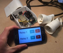 Wifi Relay With ESP8266