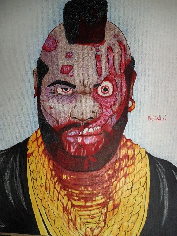 Picture of Zombie Portrait