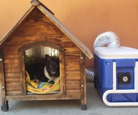 Hot Dog House - Keeping Your Fuzzy Friend Cool All Summer Long