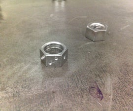 Making a 6d ring/dice combo from a nut