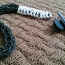 spool knit paracord lanyard