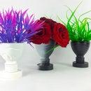 DIY Flower Vase   How to Make a Flower Vase Out of Plastic Bottle