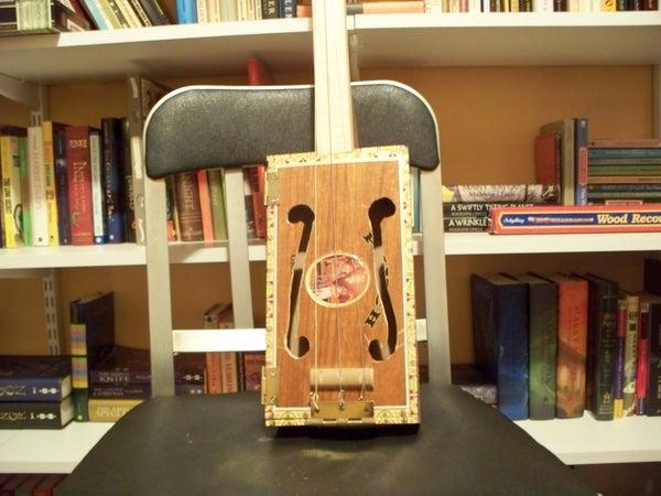 Beginner Cigar Box Guitar