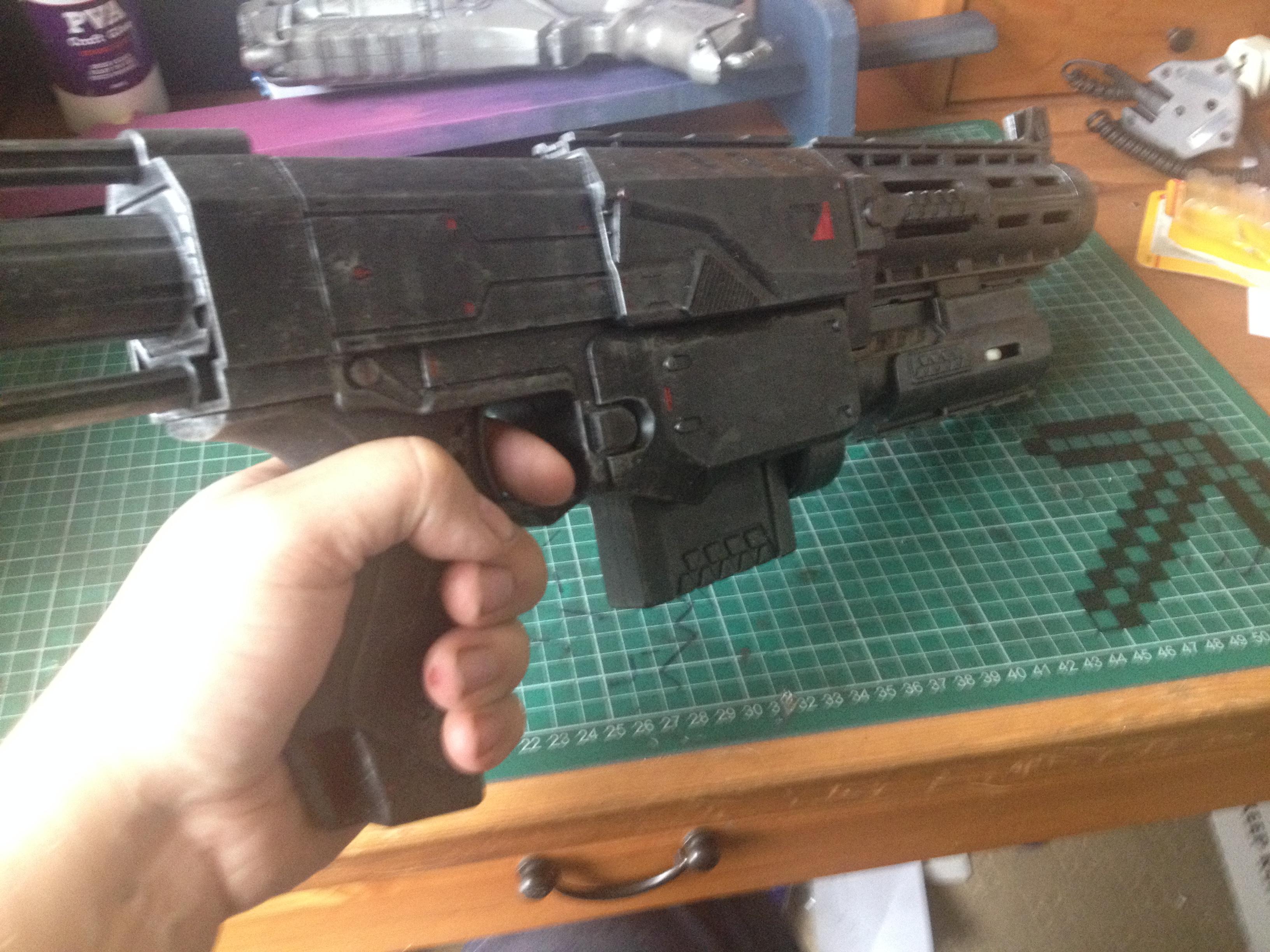 Picture of Custom Recon CS-6 NERF Gun Blaster