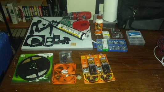 Parts, Consumables and Tools