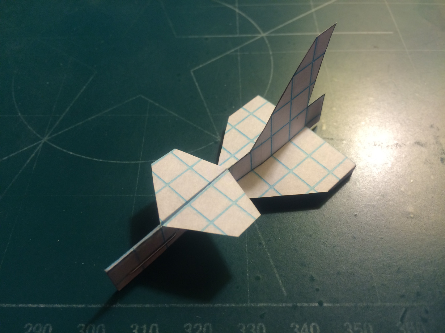 Picture of How to Make the Fang Paper Airplane