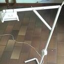 Cheap PVC Pipe desk lamp