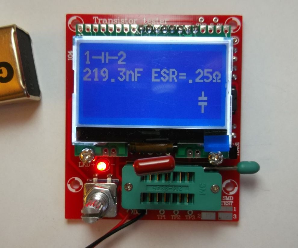 Avr Transistor Tester 8 Steps Small Modifications In Firmware And Schematic Diagram Were Made By