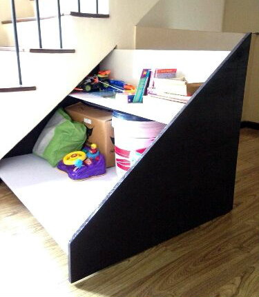 Picture of Under Stairs Pull Out Storage