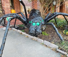Halloween 2018: Realistic Giant Spider