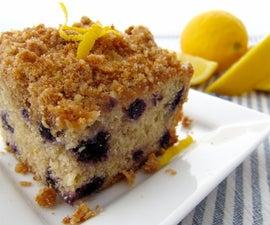 Lemon-Blueberry Crumb Cake