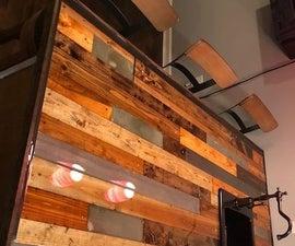 DIY Bar Countertop