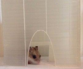 3D printable hamster house