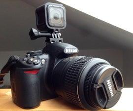 GoPro to DSLR Mount
