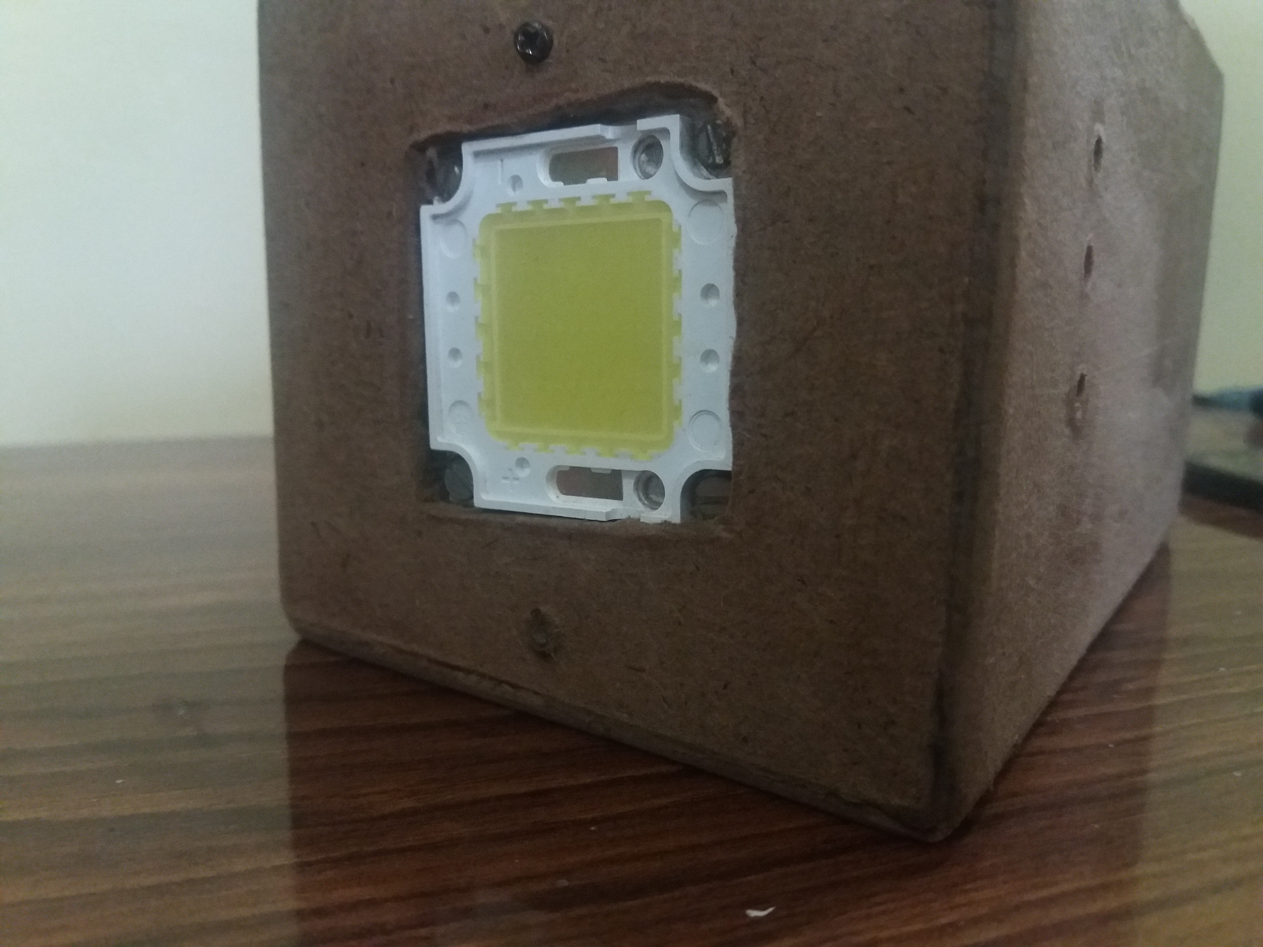 Picture of Mounting the Led Into Box