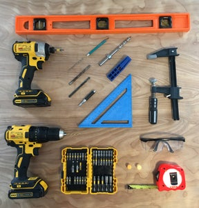 Gather Tools, Hardware, and Supplies