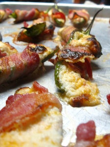 Jalapeno Poppers.  Fire in the Hole!