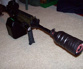 Homemade Airsoft Silencer