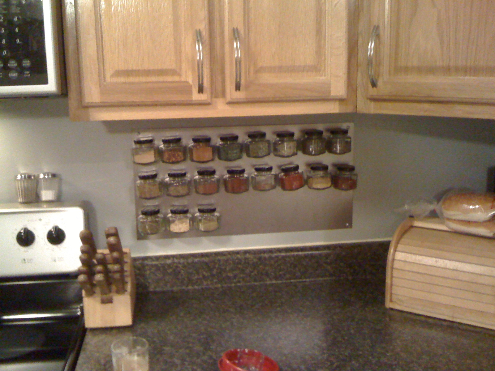 Spice Racks For Kitchen Diy Magnetic Spice Rack 4 Steps With Pictures