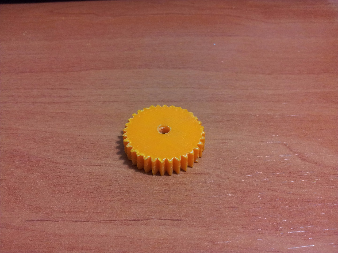 Picture of Motor Bracket and Pinion