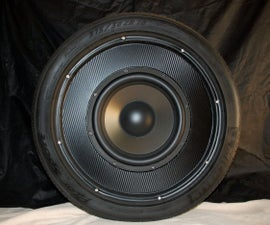 Performance-tire Subwoofer