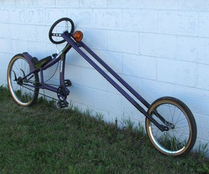 Atomic Zombie's Carnage Chopper Bicycle