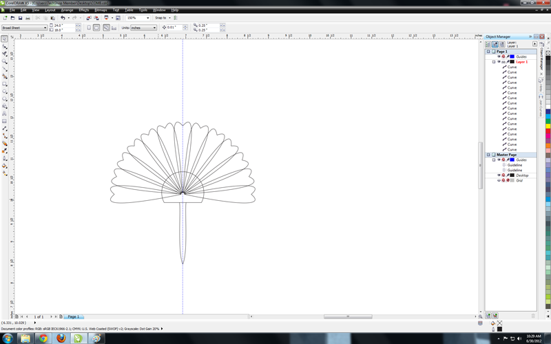 Picture of How to Make a Hair Comb With Corel Draw and a Laser Cutter : a Workflow Storyboard