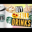 DIY Starbucks Fall Drinks