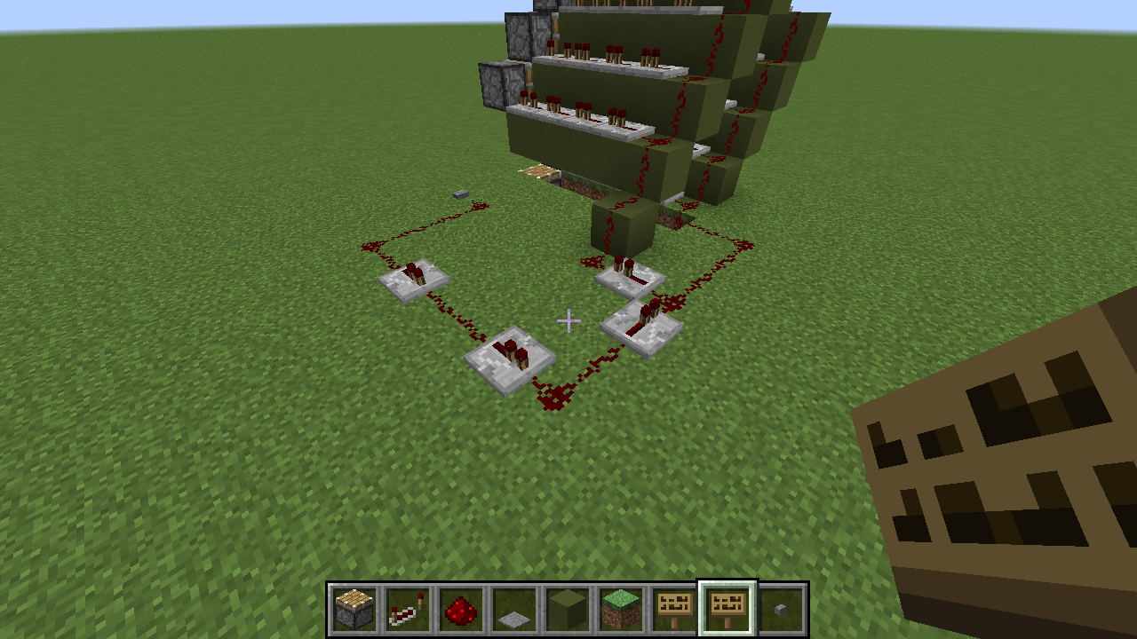 Picture of The Redstone Circuit and Wiring
