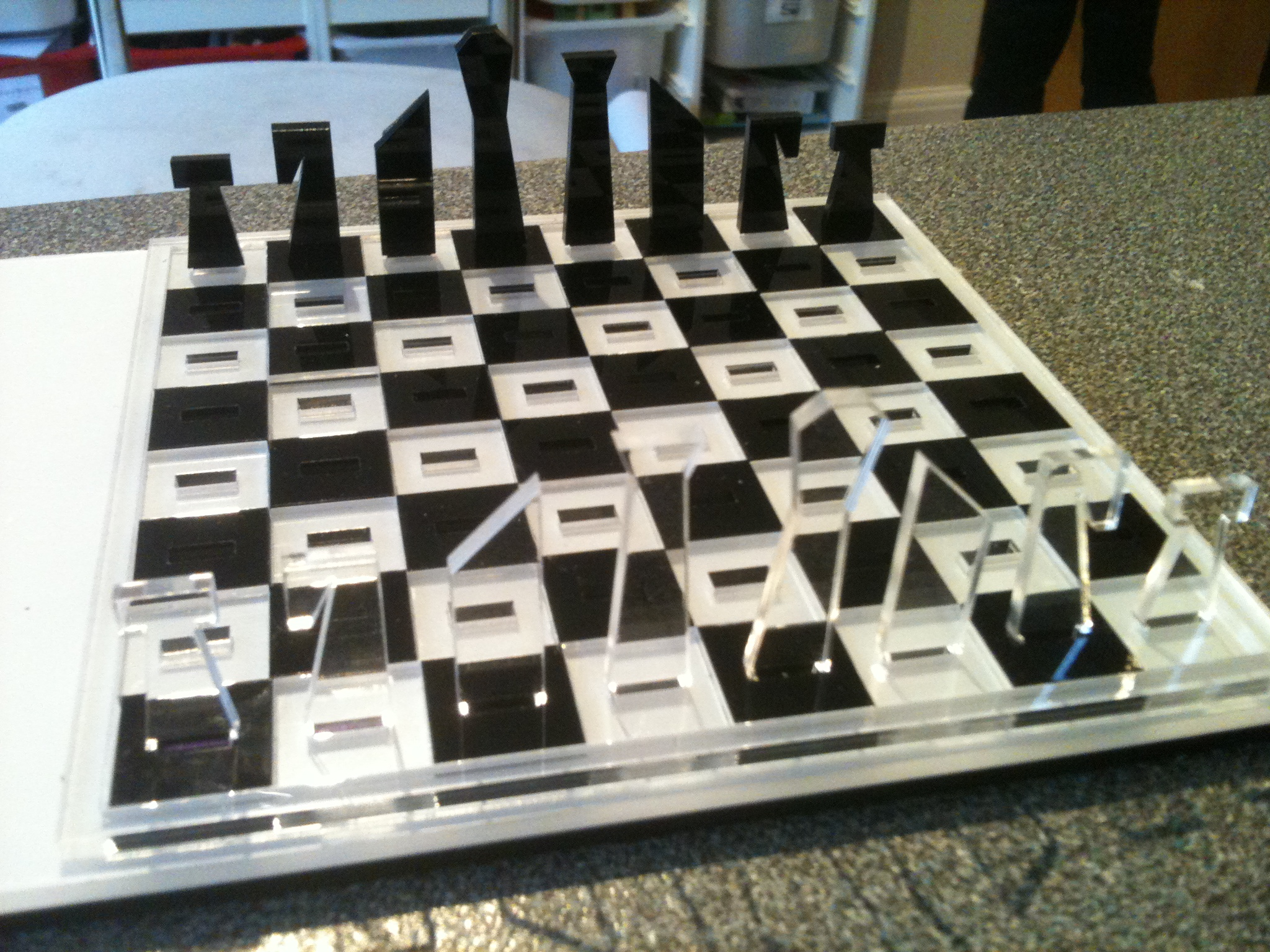 Picture of Laser Cut Travel Chess Set
