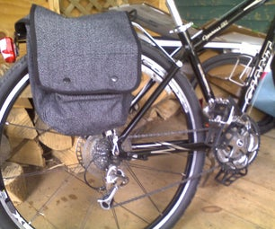 Bicycle Paniers From Canvas Military Surplus Map Bags