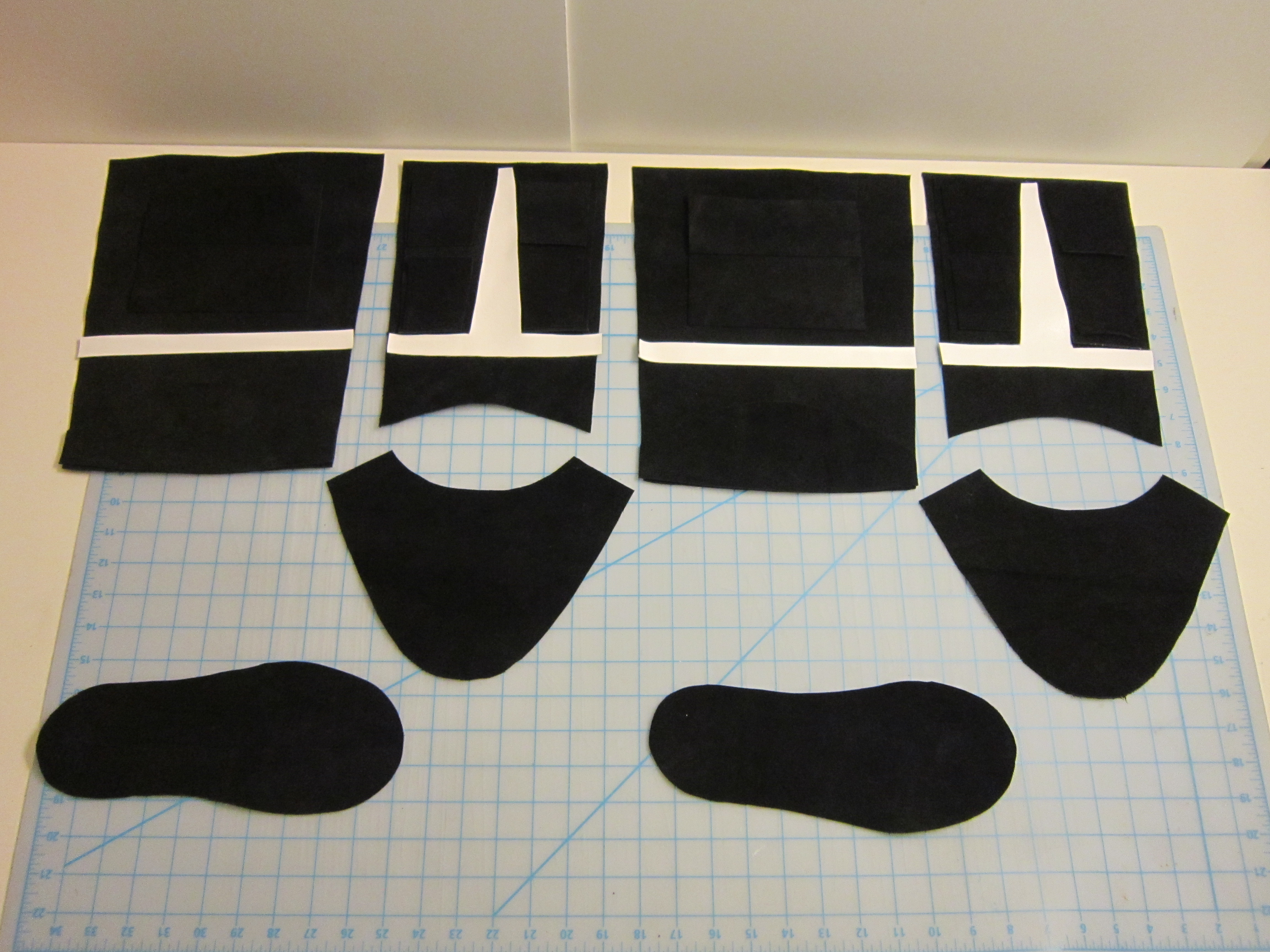 Picture of Cutting the Boot Pieces